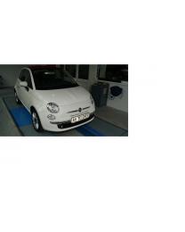 Fiat 500 Chrom Zierleisten für Stoßstange vorn Original Zubehör