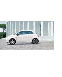 Fiat 500 Alufelgen Sport Diamantgeschliffen 16 Zoll Original Zubehör 4 Stück