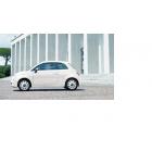 Fiat 500 Radkappen Vintage-Stil mit Chrom Ring 15 Zoll Original Zubehör