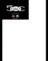 Fiat 500 Zubehörprospekt