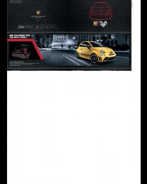 Abarth 595 Zubehörprospekt Fiat 500