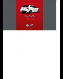 Alfa Romeo Giulietta Zubehörprospekt