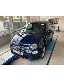 Fiat 500 Cabrio Lounge Dipinto Di Luna Blau