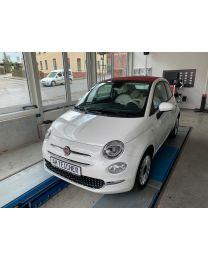 Fiat 500 Cabrio Lounge Gelato weiß