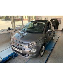 Fiat 500 Cabrio Lounge Pompei Grau