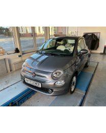 Fiat 500 Lounge Pompei Grau