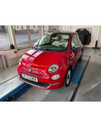 Fiat 500 Lounge Passione Rot