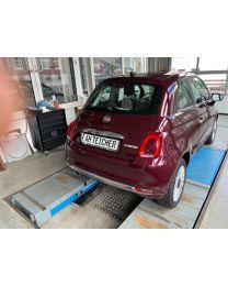 Fiat 500C Lounge Vesuvio Schwarz