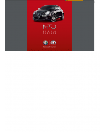 Alfa Romeo Mito Zubehörprospekt Serie 2