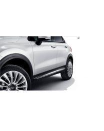 Fiat 500X Seitenleisten Verchromt
