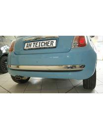 Fiat 500 Chrom Zierleiste für Stoßstange hinten zum klicken Original Zubehör
