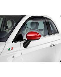 Fiat 500 & Punto Rot Spiegelkappen Original Zubehör