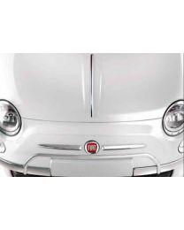 Fiat 500 Chrombügel Front Chrom Bügel über dem Kennzeichen Original Zubehör