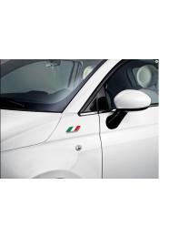 "Sticker ""Italienische Flagge"" Fiat & Alfa Romeo"