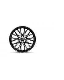 Jeep Cherokee 17 Zoll Aulufelgen Satz (4 Stück) lackiert Tiefschwarz