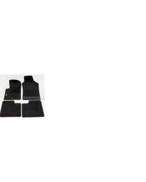 Fiat 500 Fußmatten mit einem Befestigungs Punkt 500 Logo Original Zubehör